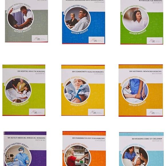 1cd700cf490ee ATI Other | Rn Textbooks Any One 20 Can Bundle | Poshmark